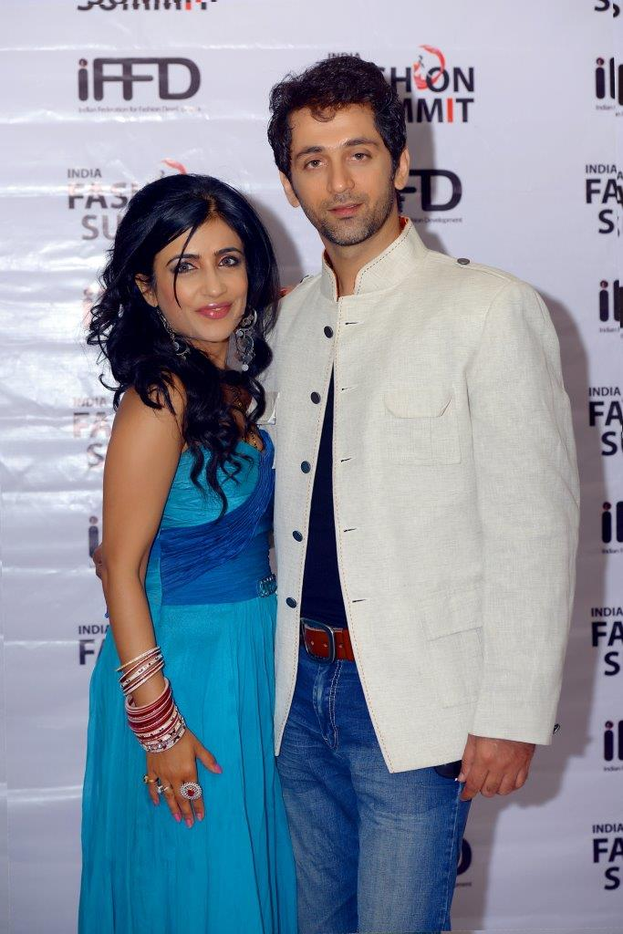 Shibani Kashyap(Singer) with her Husband Rajiv Roda
