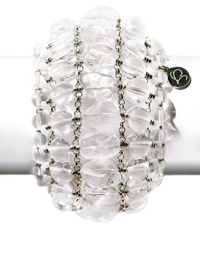 Caged Quartz Cuff