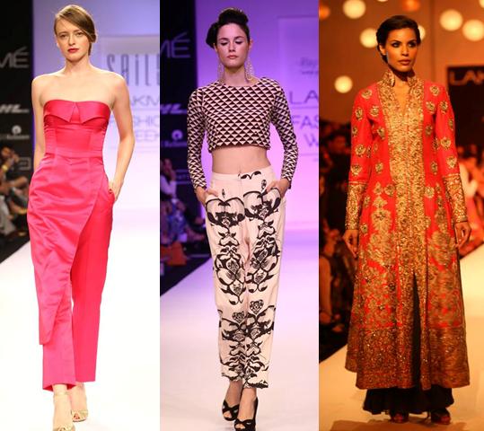 Sailex, Payal Singhal, Manish Malhotra. http://www.lakmefashionweek.co.in/