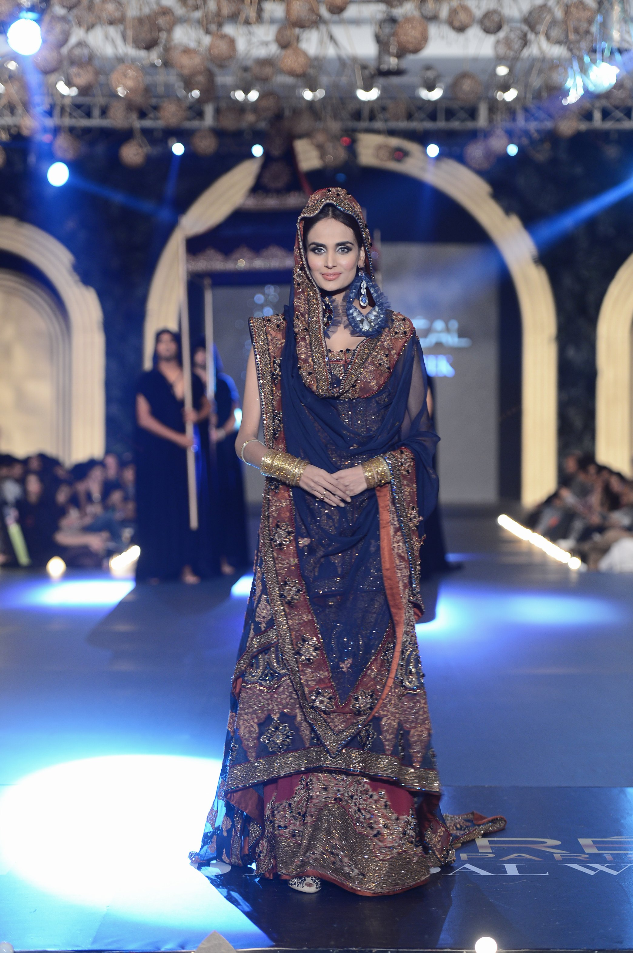 Sonia Azhar, The PFDC L'Oreal Paris Bridal Fashion Week
