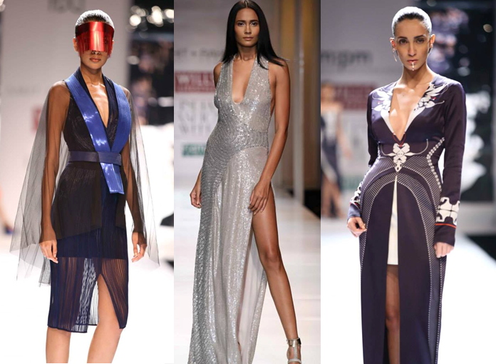 Amit Aggarwal, Rohit Gandhi & Rahul Khanna, am:pm by Ankur & Priyanka Modi - Wills Lifestyle India Fashion Week