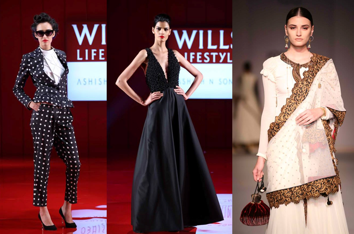 Ashish N Soni, Joy Mitra - Wills Lifestyle India Fashion Week