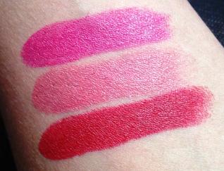 MAC Cosmetics: Girl About Town, Cremesheen Fanfare, Russian Red