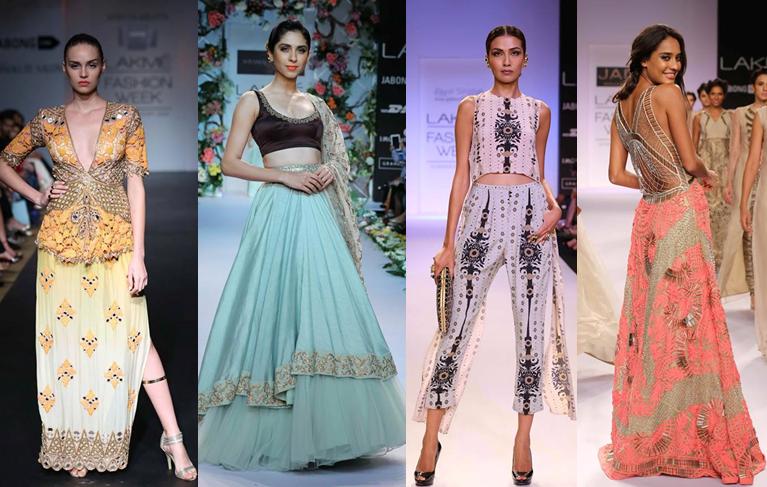 Arpita Mehta, Shyamal & Bhumika, Payal Singhal, Jade by Monica & Karishma. Lakmé Fashion Week
