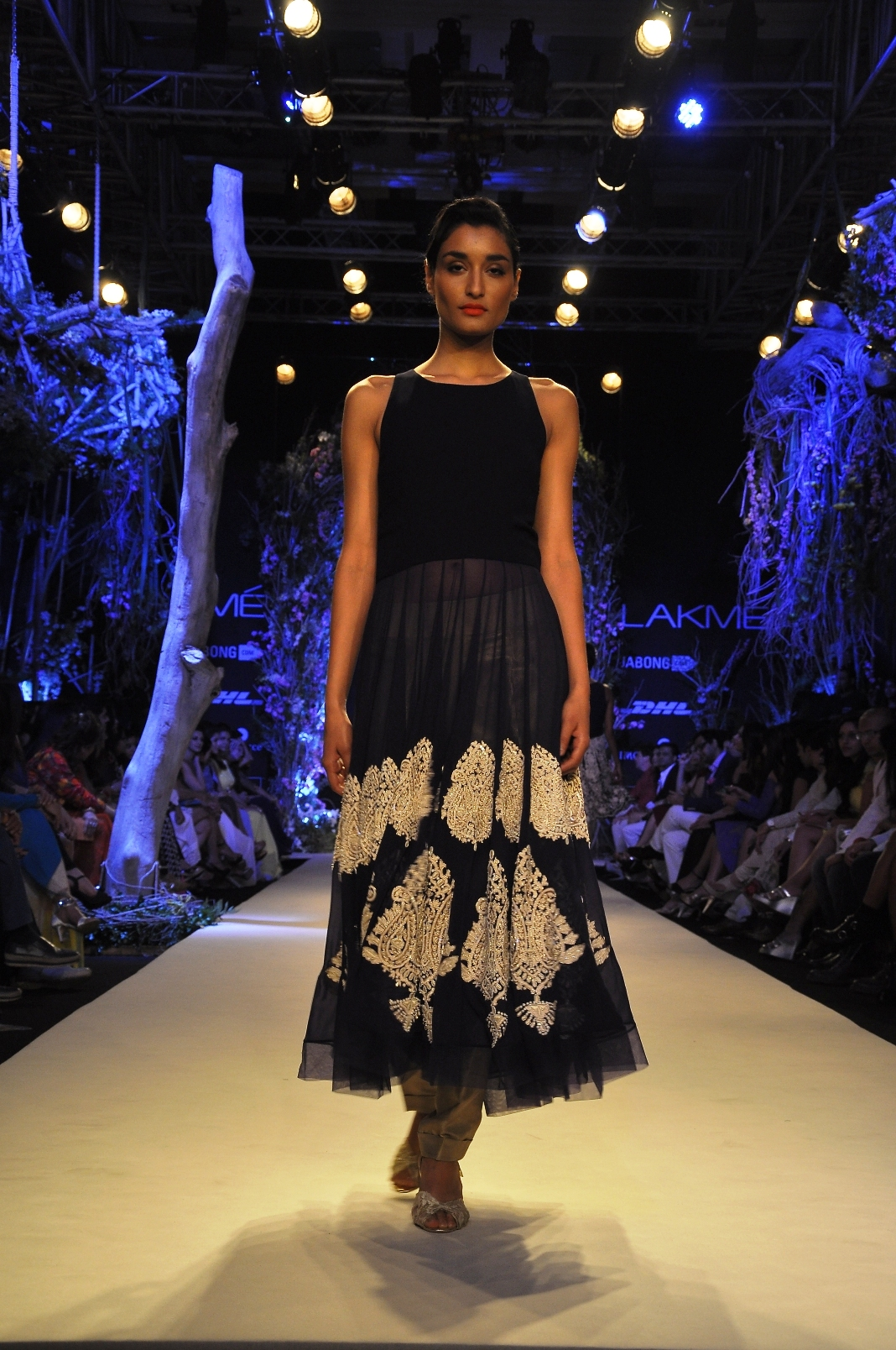 Model in Manish Malhotra