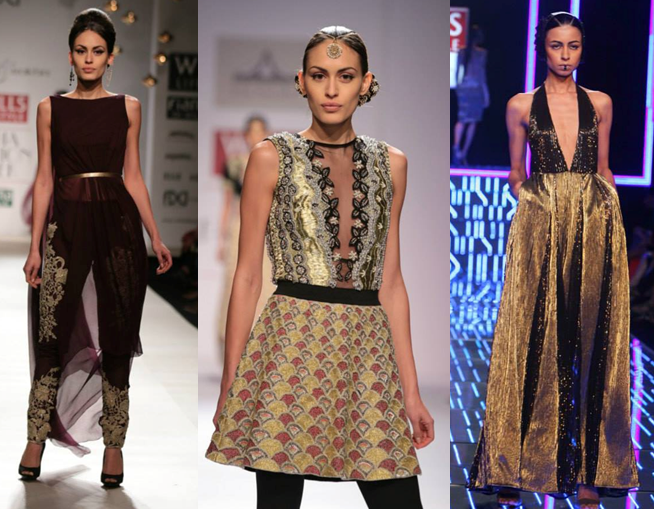 Rabani & Rakhi, Pia Pauro, Namrata Joshipura Images: Wills Lifestyle India Fashion Week - Fashion Design Council of India