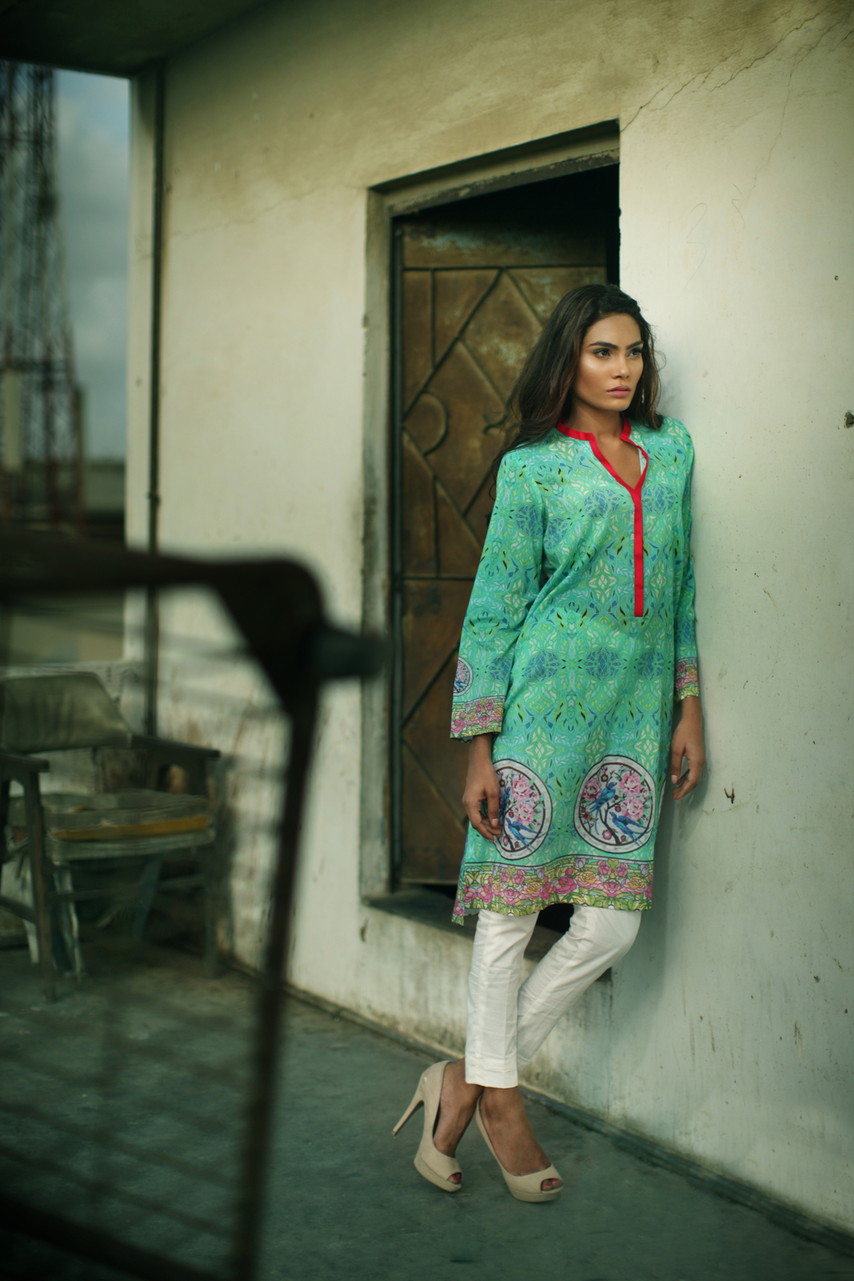 Nida Azwer - Capsule Lawn Collection