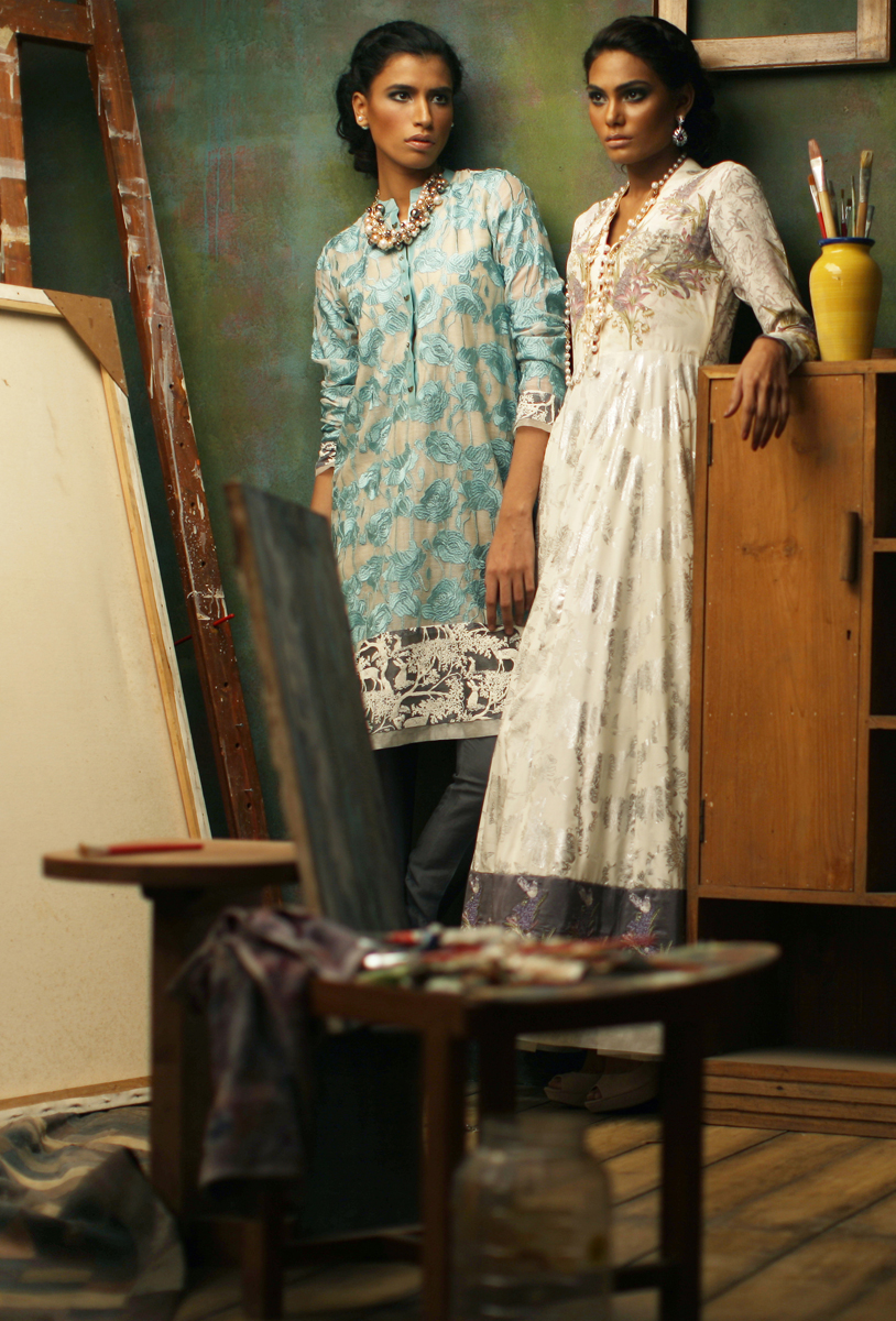 Nida Azwer - Luxy Pret Eid Collection