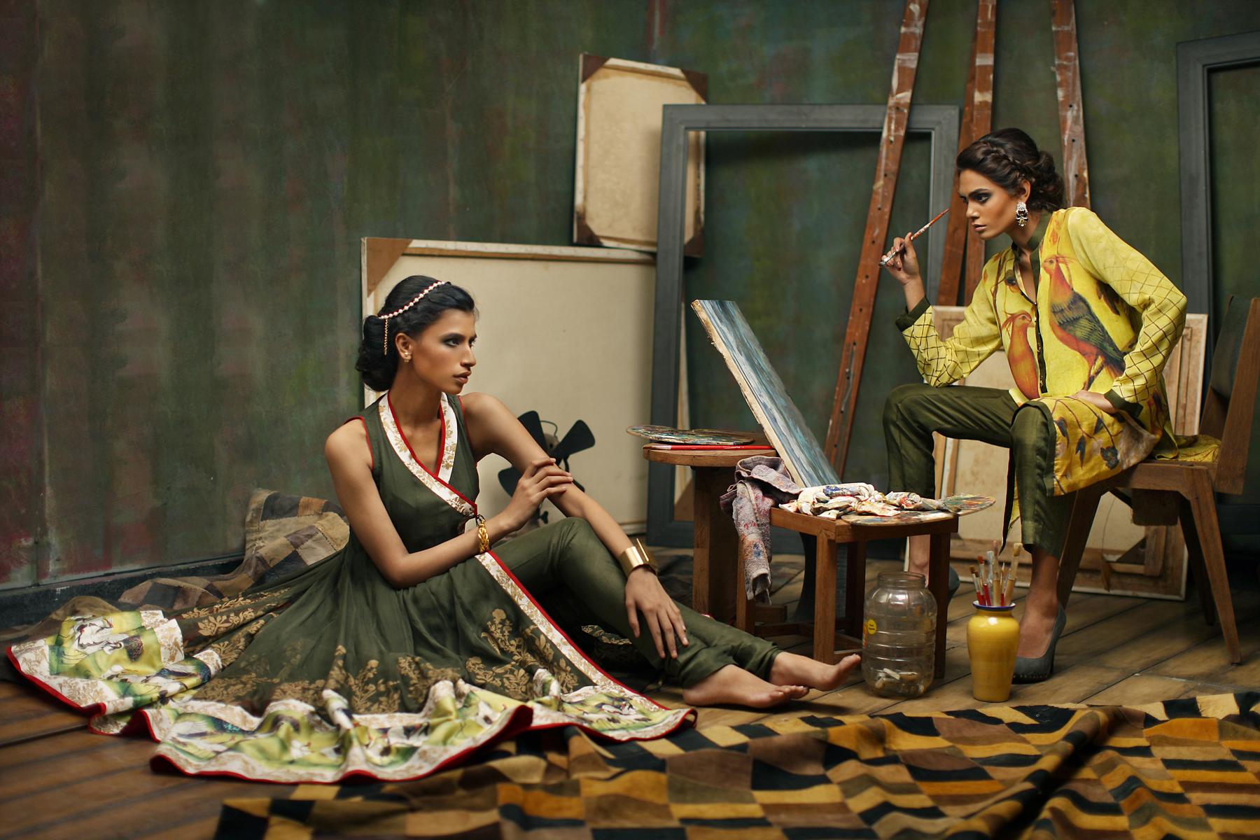 Nida Azwer - Luxy Pret Eid Collection