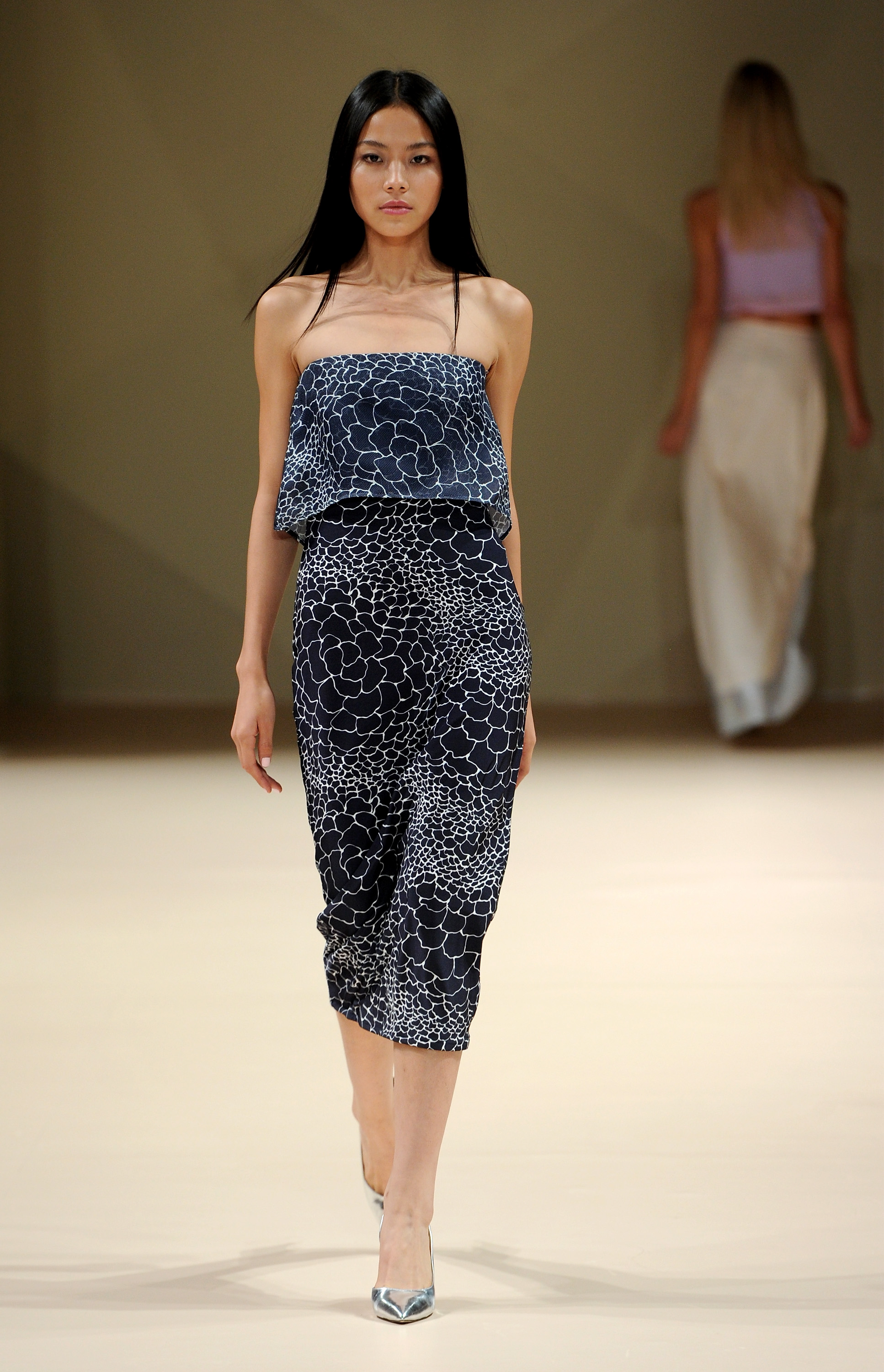 Dima Ayad SS15 - Fashion Forward Dubai - Photography - Ian Gavan, Stuart Wilson - Getty Images
