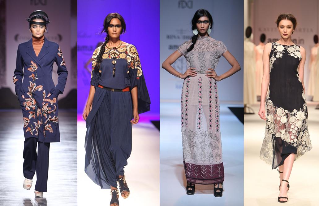 Sahil Kochhar, Samant Chauhan, JJ Valaya, Payal Singhal - AIFW AW 2015
