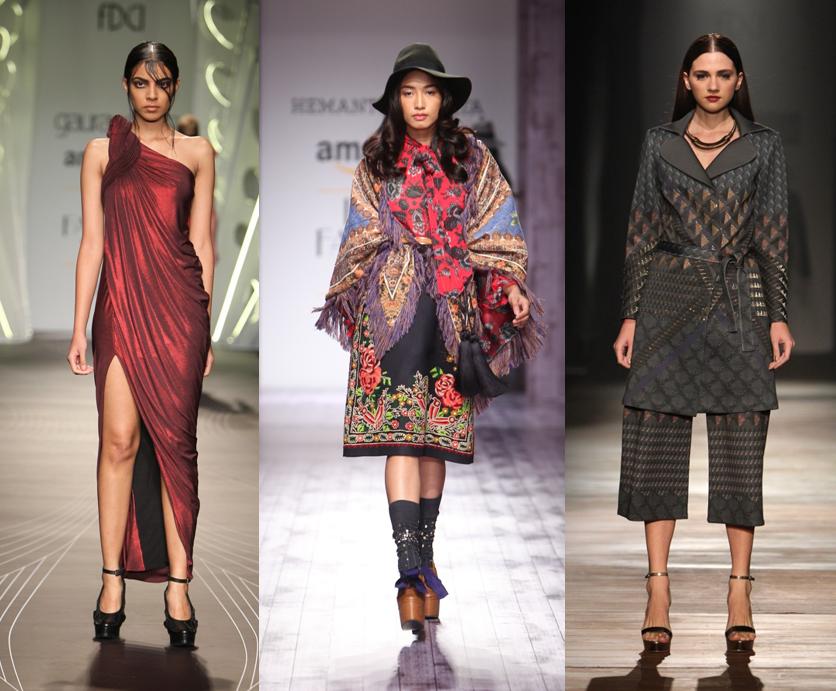Gaurav Gupta, Hemant & Nandita, Namrata Joshipura - AIFW AW 2015