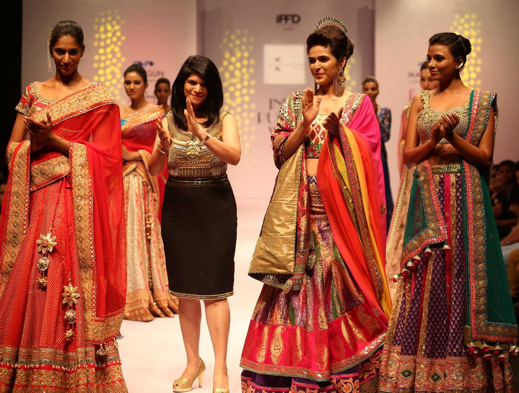 India Runway Week 2015 - Kaisha Studio by Shalini Gupta