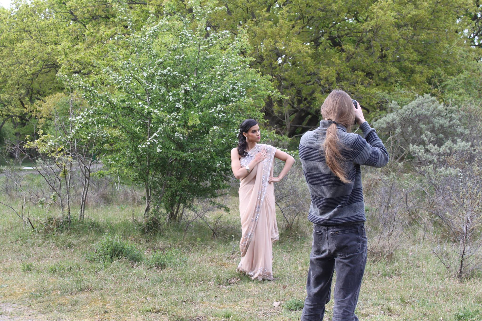 Behind the scenes The Fashion Orientalist shoot, Image by Almira's Beautique