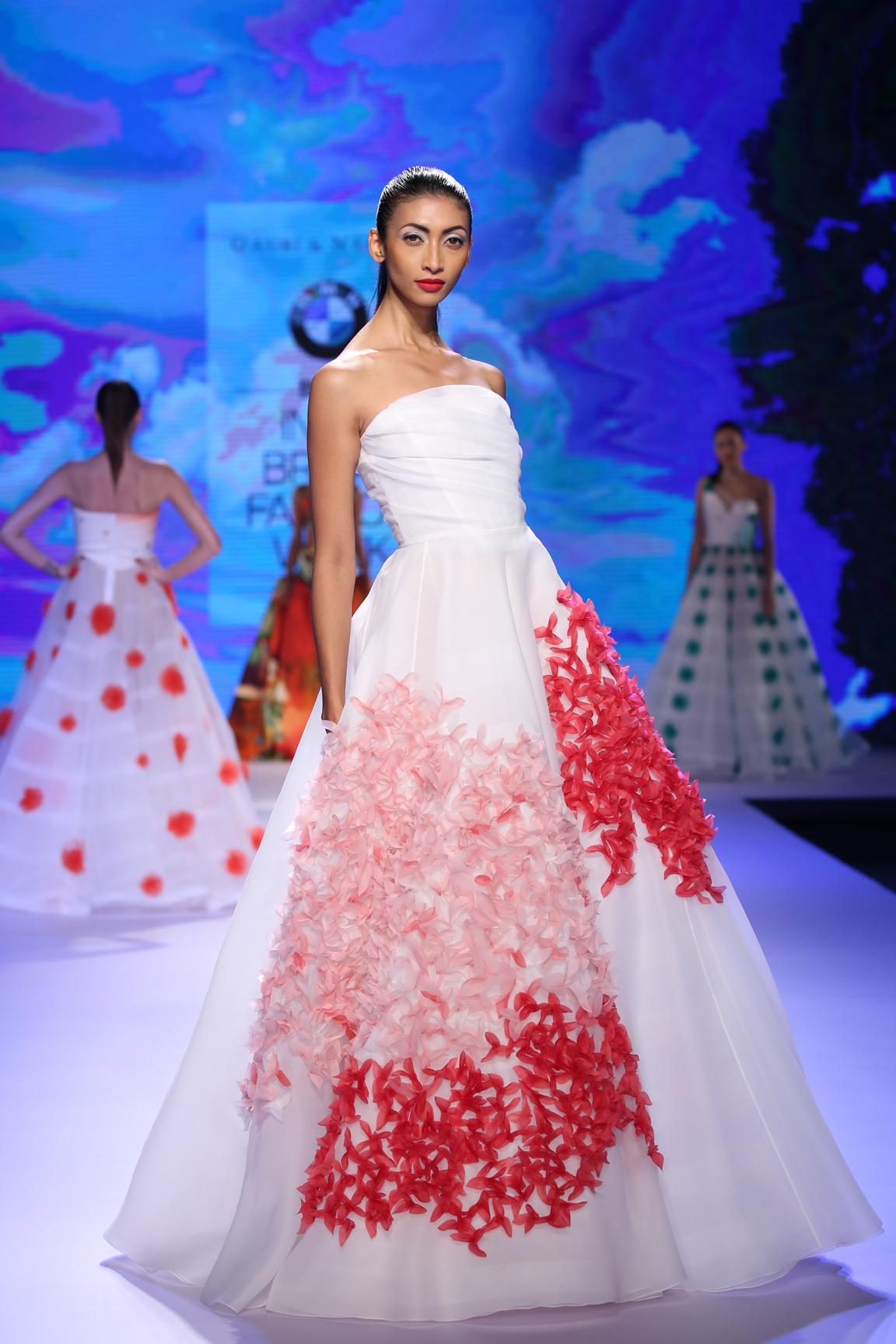 Models in Gauri & Nainika at BMW India Bridal Fashion Week 2015