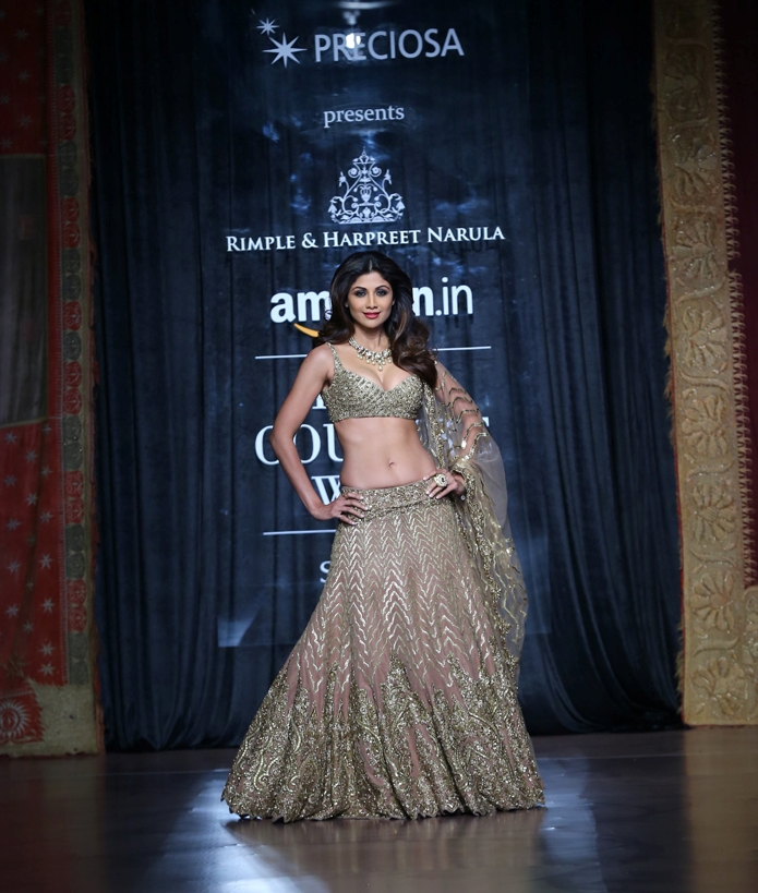 PRECIOSA Presents Rimple & Harpreet Narula - FDCI Amazon India Couture Week 2015