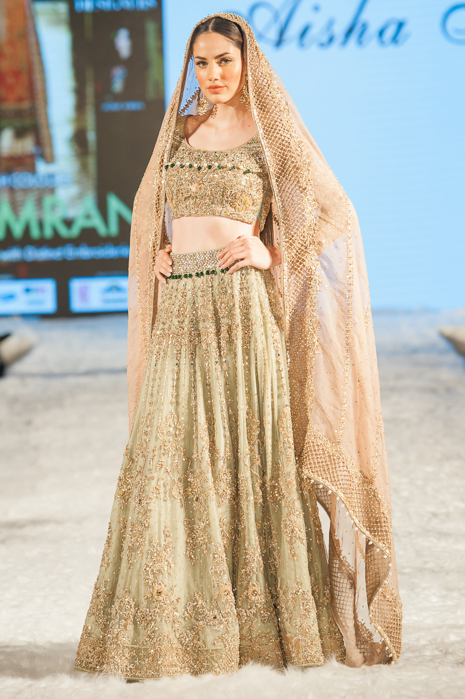 Aisha Imran - Pakistan Fashion Week London - Photography by Shahid Malik