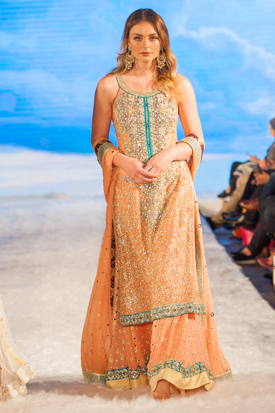 Embellished by Sadaf Amir - Pakistan Fashion Week London - Photography by Shahid Malik