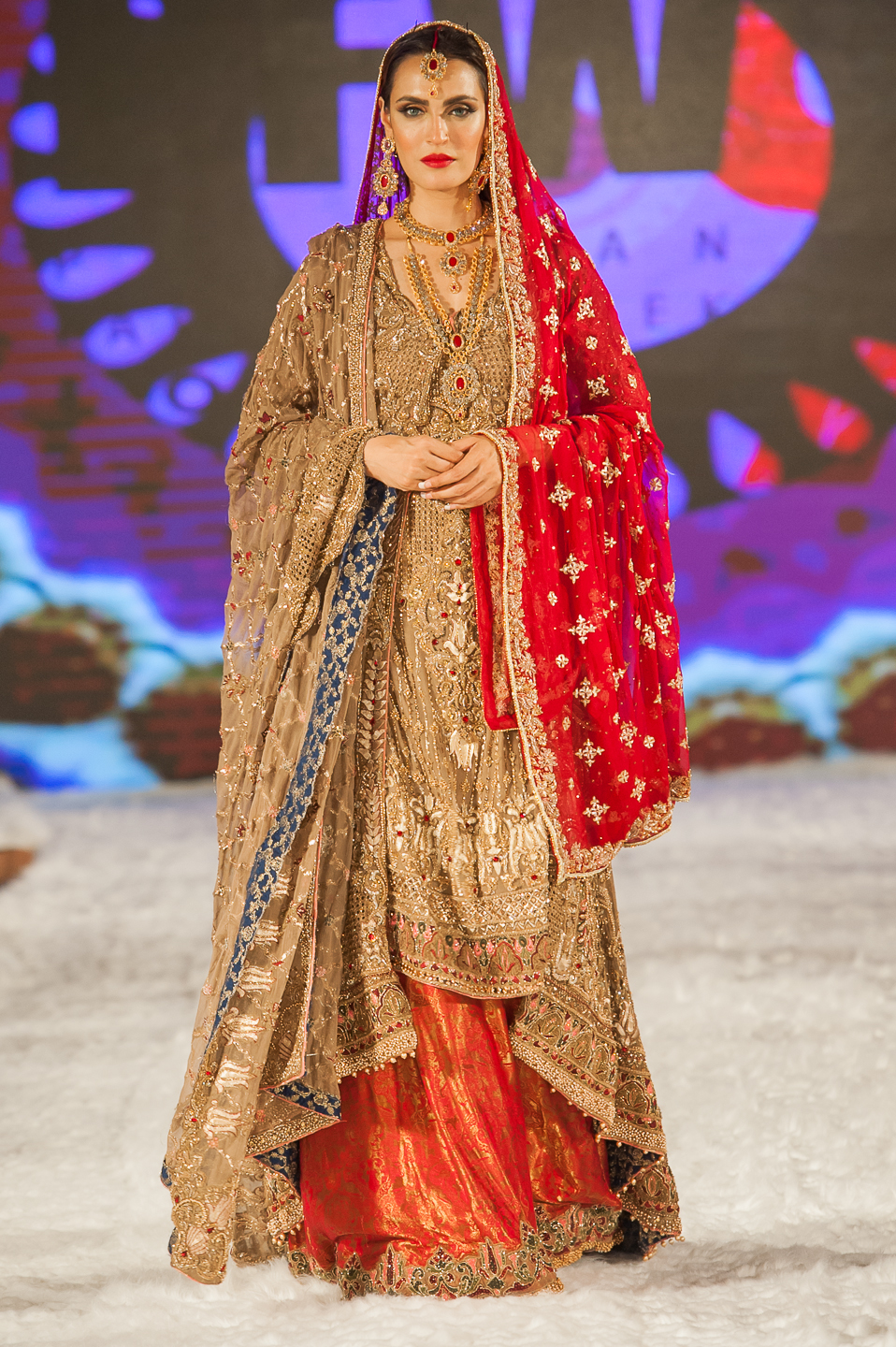 Goal by Fozia Hammad - Pakistan Fashion Week London - Photography by Shahid Malik