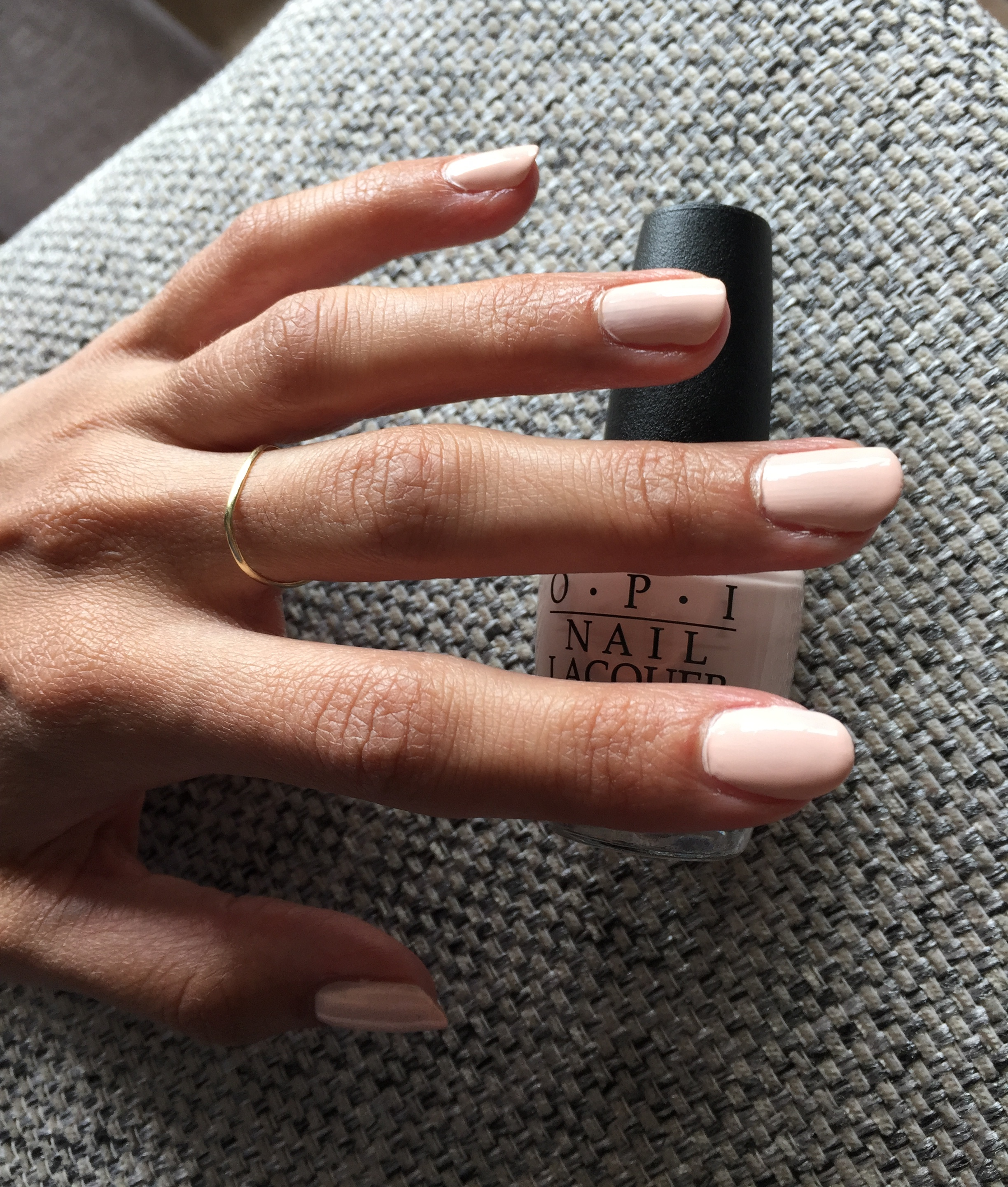 OPI SoftShades Pastels - Stop It I'm Blushing!