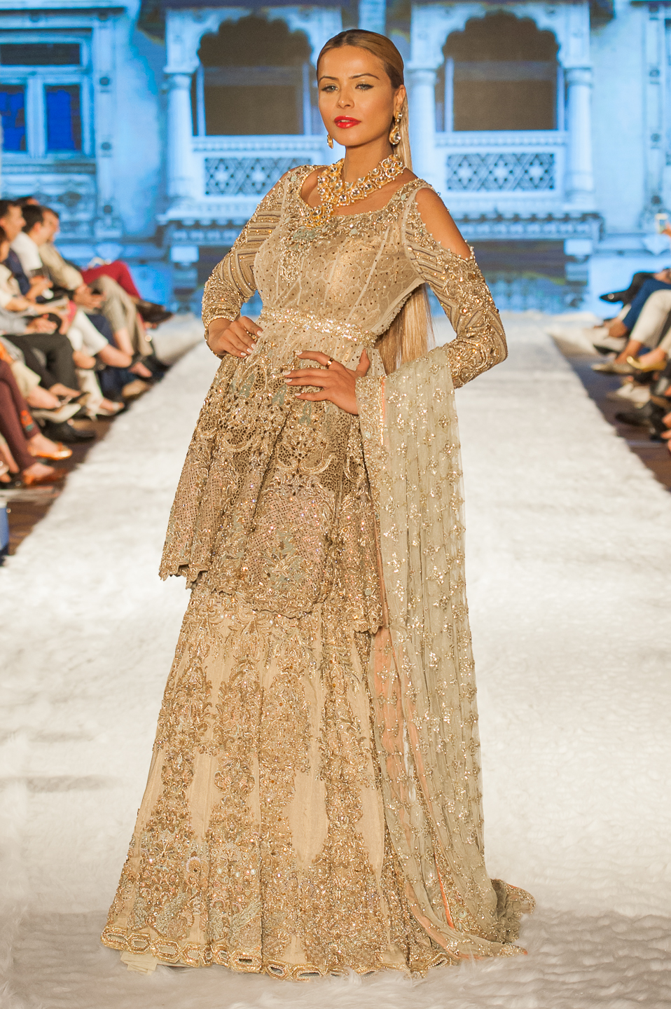 Rani Eman - Pakistan Fashion Week London - Photography by Shahid Malik