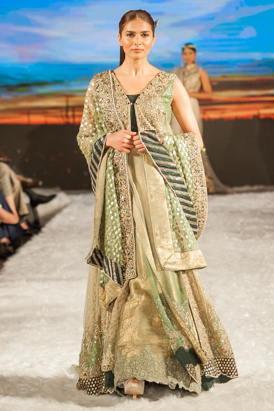 Sarah Salman - Pakistan Fashion Week London - Photography by Shahid Malik