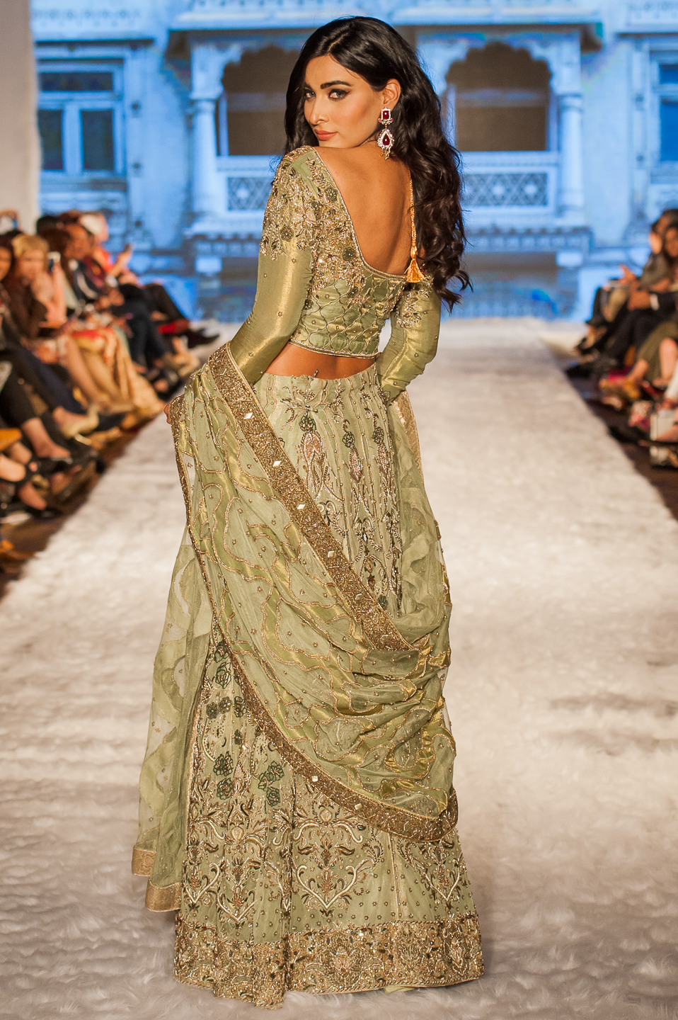 Shazia Kiyani - Pakistan Fashion Week London - Photography by Shahid Malik