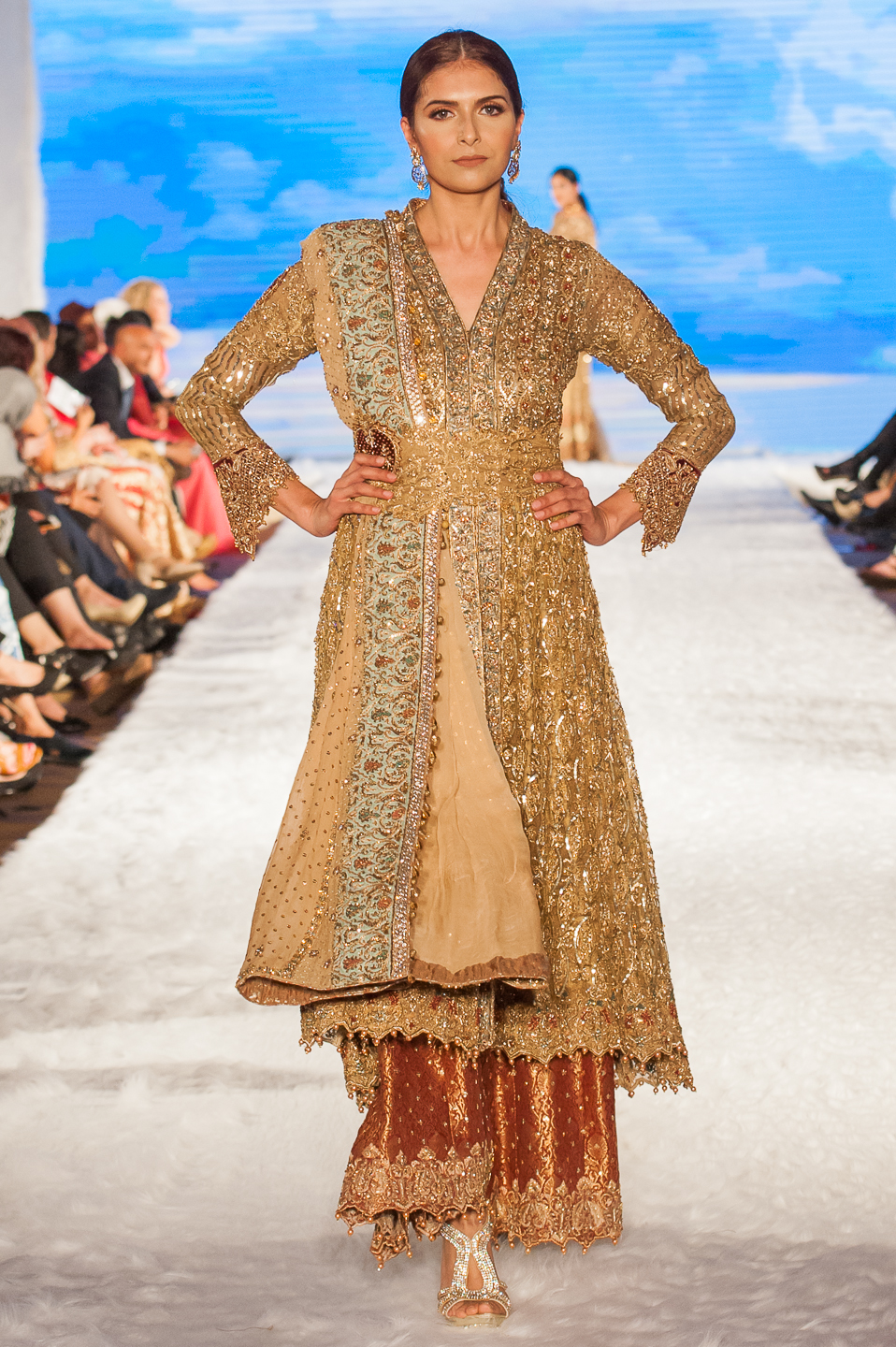 Umsha By Uzma Babar - Pakistan Fashion Week London - Photography by Shahid Malik