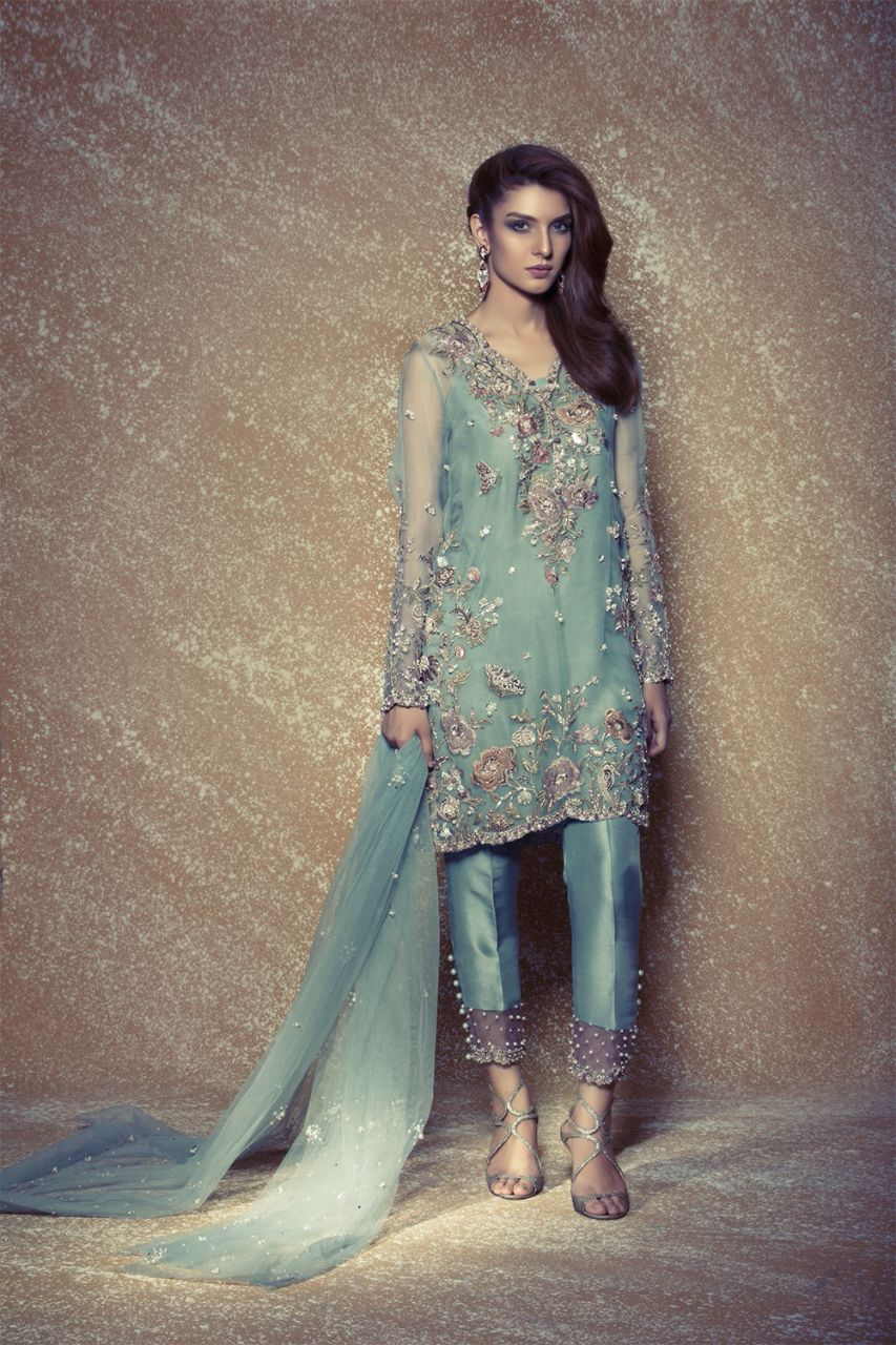 Luxury designer label Élan - Le Jardin Exotique Luxury Prét Eid Collection 2016