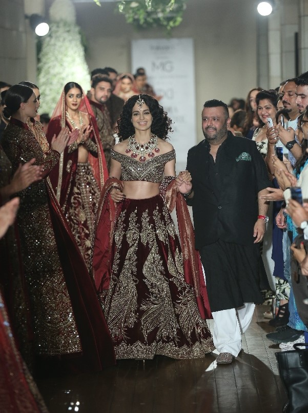 Kangana Ranaut for Manav Gangwani, Begum-e-Jannat, FDCI India Couture Week 2016