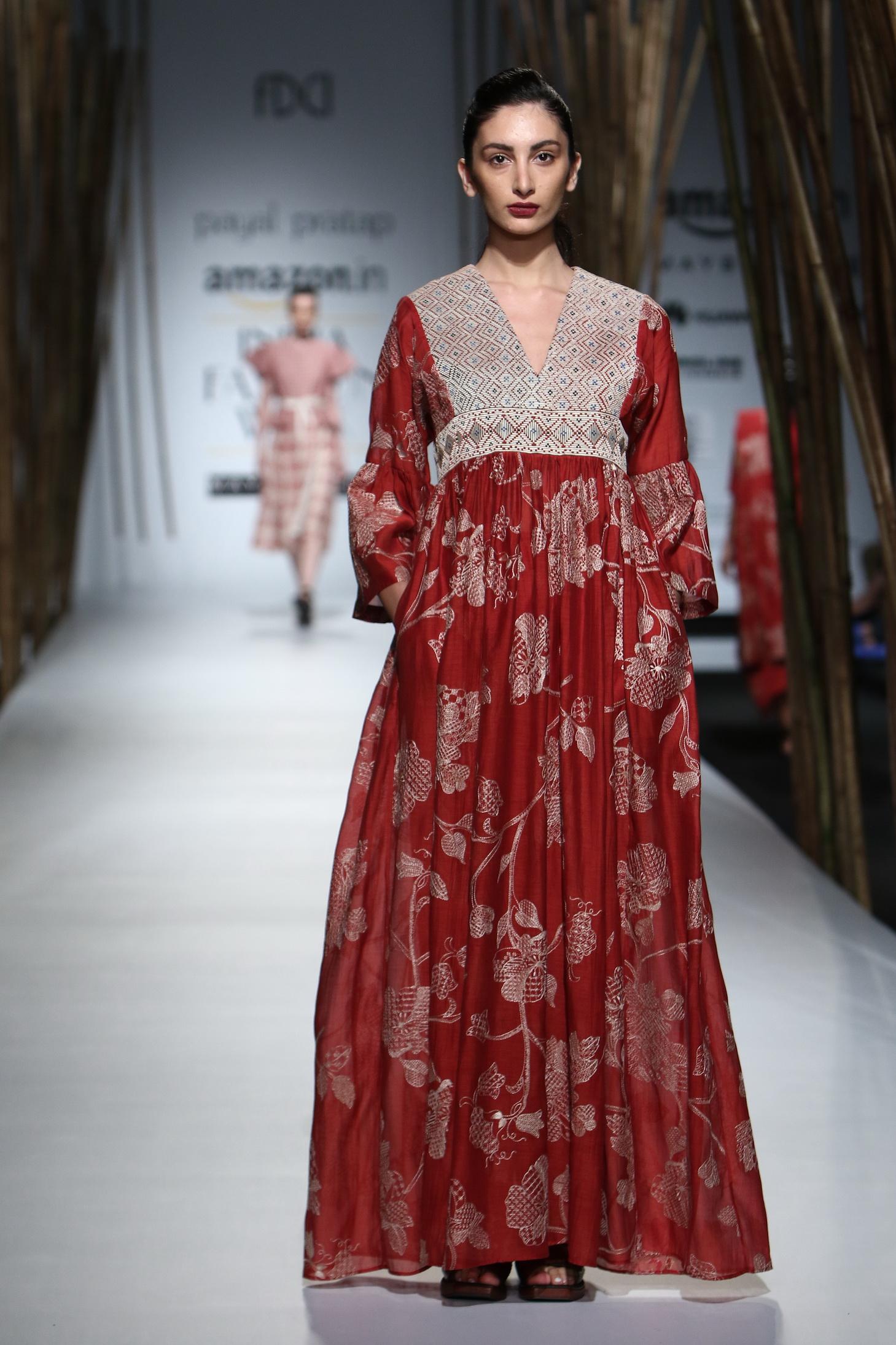 Payal Pratap - Amazon India Fashion Week SS17