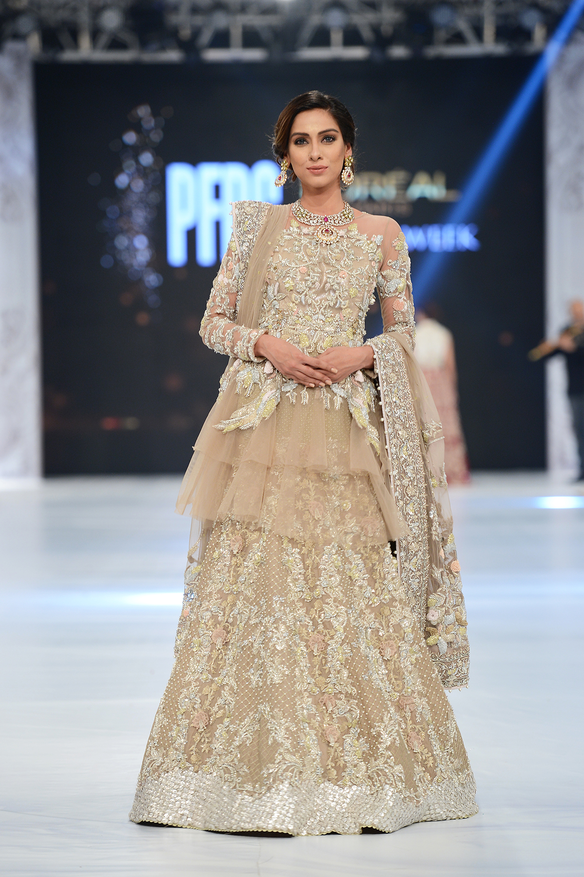 Saira Shakira - PFDC L'Oréal Paris Bridal Week - Photography by Faisal Farooqui, Dragonfly