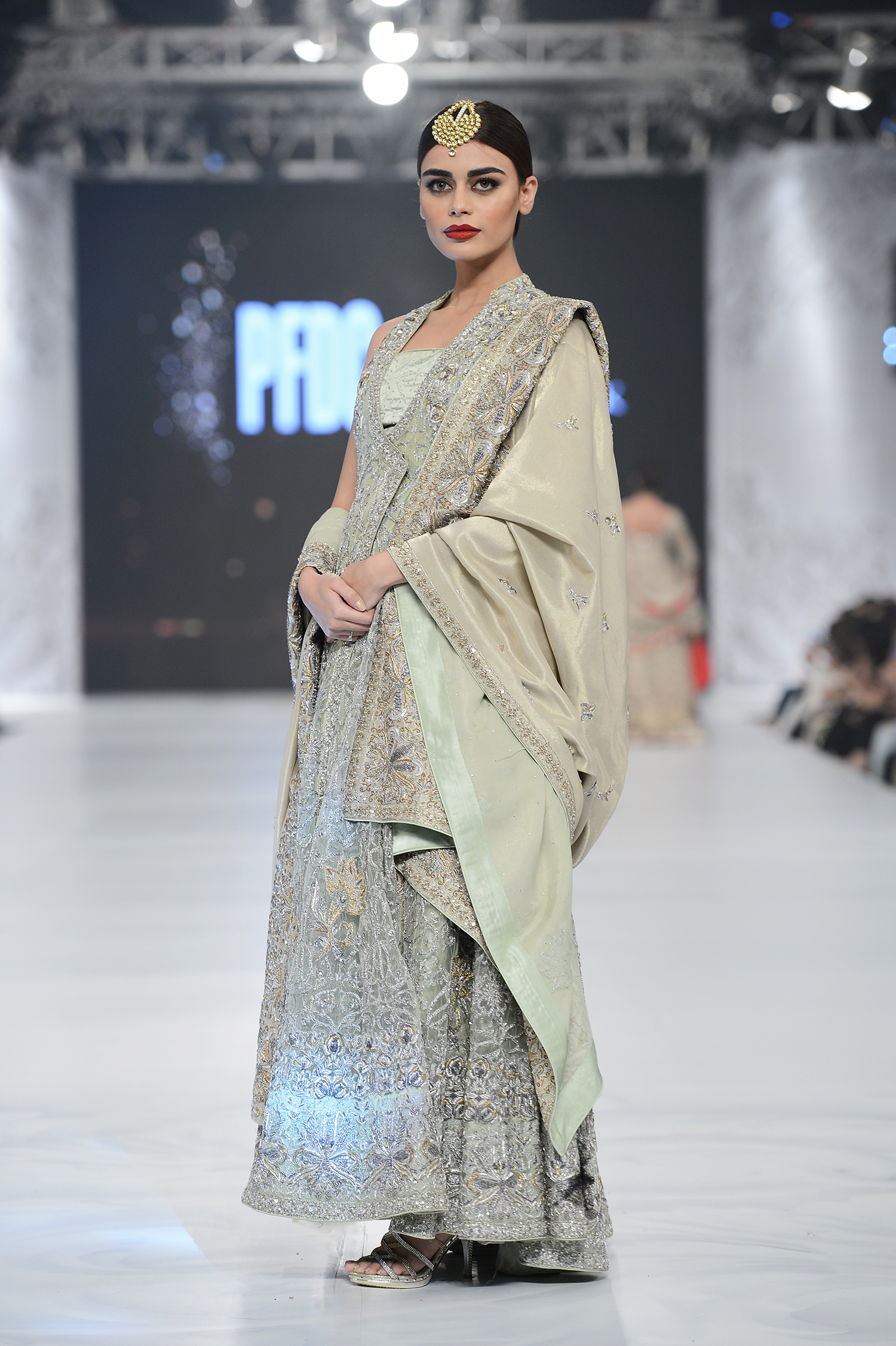 Shamsha Hashwani - PFDC L'Oréal Paris Bridal Week - Photography by Faisal Farooqui, Dragonfly