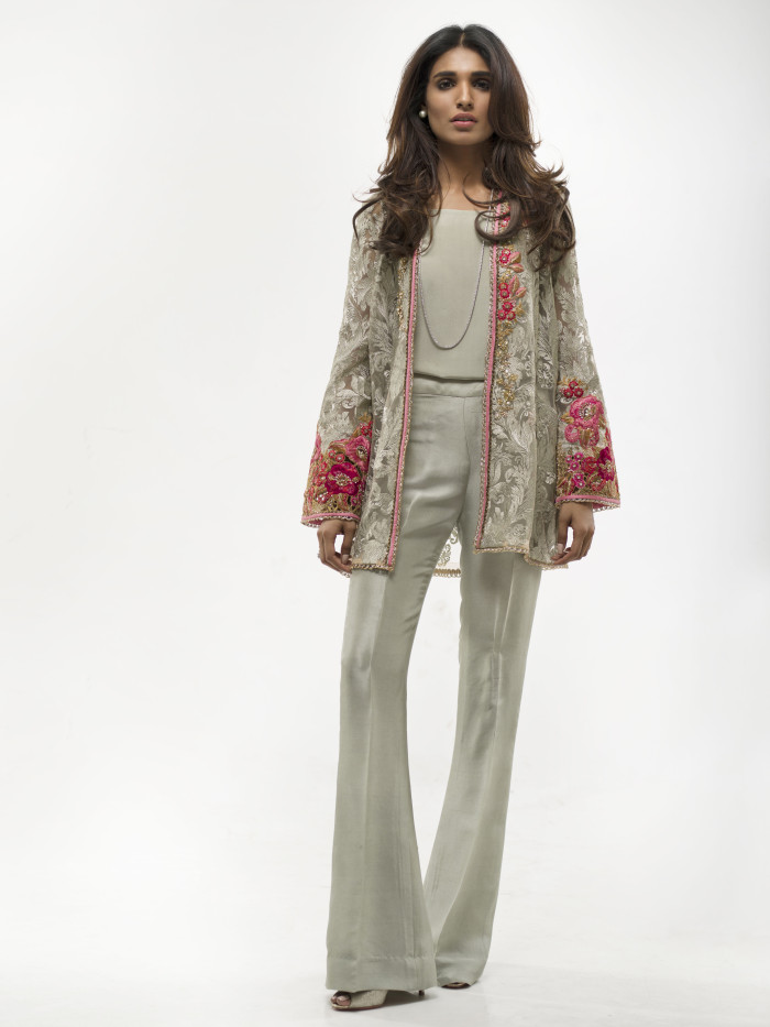 Sania Maskatiya ''The Summer Bloom'' Eid collection 2016, Photography: Rizwan Ul Haq, Model: Amna Ilyas, Hair & Make-up: NPRO