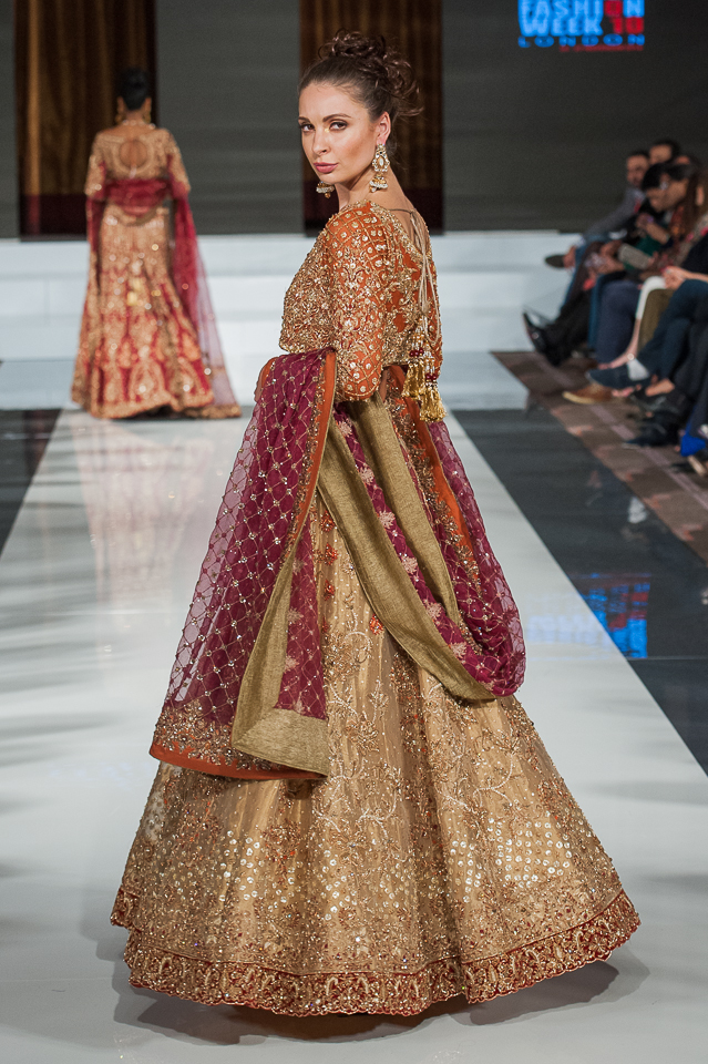 Aisha Imran - Pakistan Fashion Week London - Photography Shahid Malik