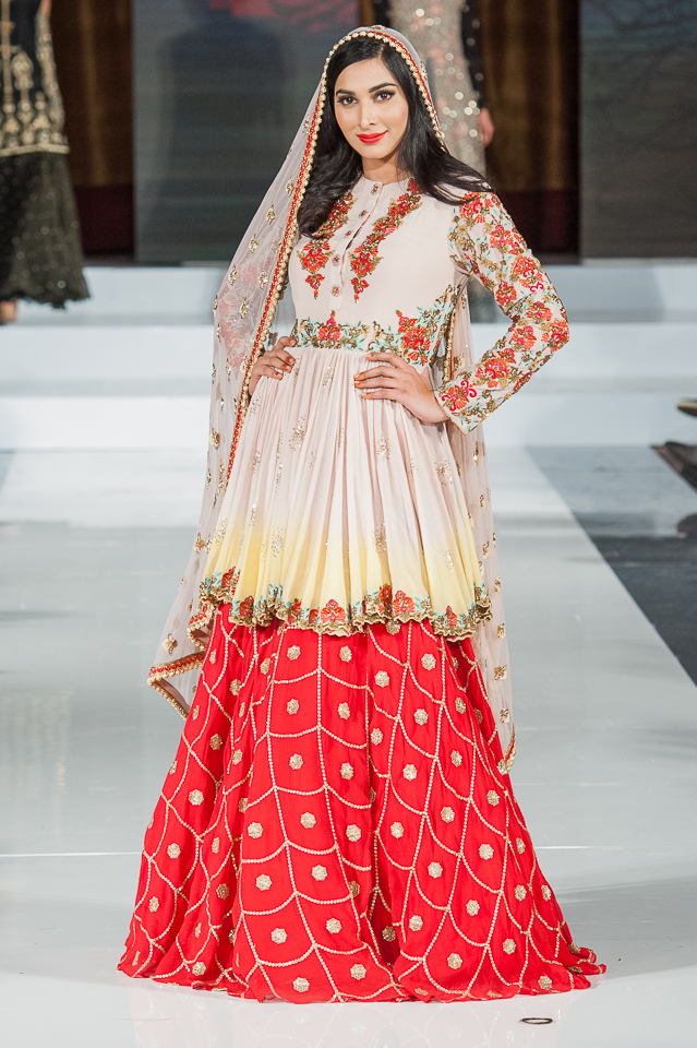 Ayesha Aejaz - Pakistan Fashion Week London - Photography Shahid Malik