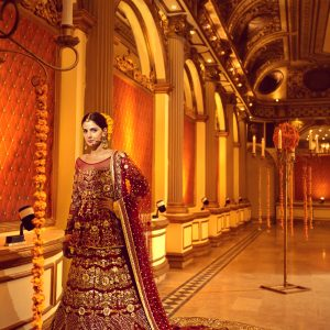 Erum Khan - Nawabzaadi Bridal Couture - Saba Qamar - Photography by Guddu Shani