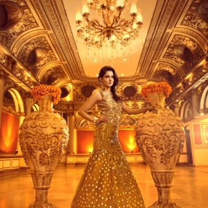 Erum Khan - Nawabzaadi Bridal Couture - Saba Qamar - Photography by Guddu Shani