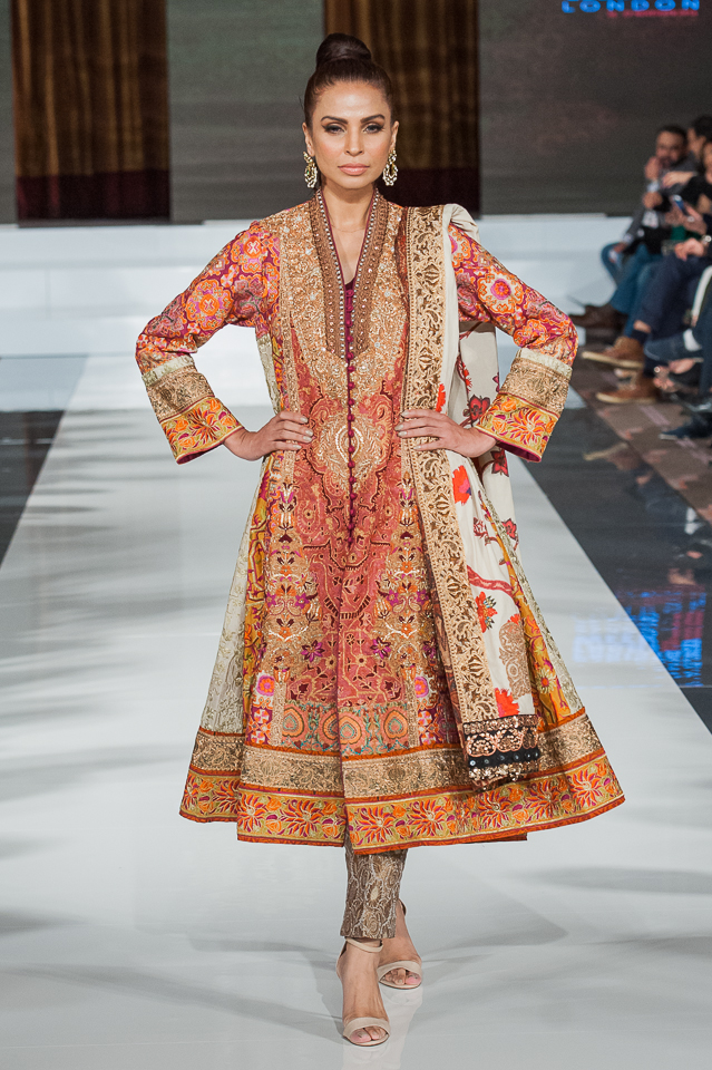 Shamaeel Ansari - Pakistan Fashion Week London - Photography Shahid Malik