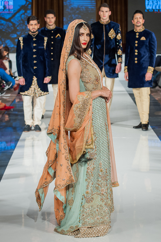 Zeshan Bariwala - Pakistan Fashion Week London - Photography Shahid Malik