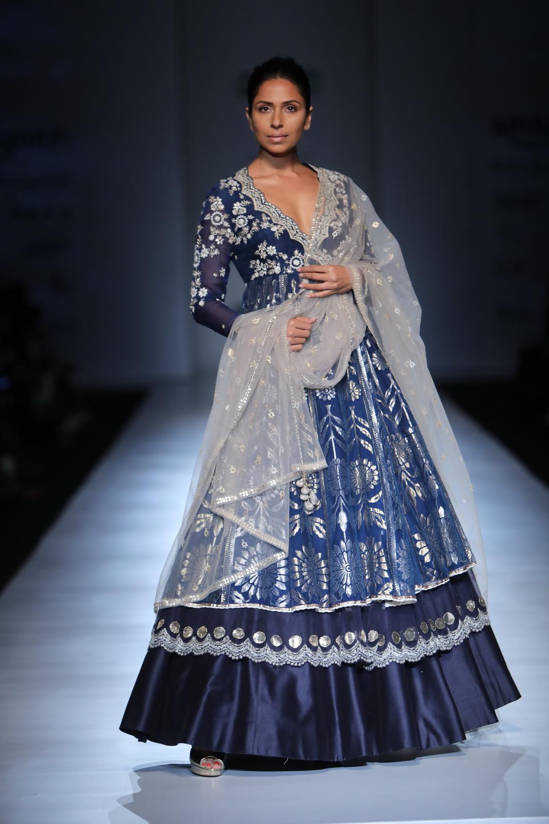 Anju Modi - Amazon India Fashion Week AW17