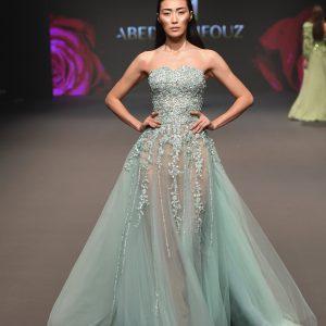 Abed Mafouz - Fashion Forward Dubai Season 9 - (Photo by Stuart C. Wilson/Getty Images)