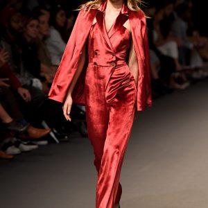 Kristina Fidelskaya - Fashion Forward Dubai Season 9 - (Photo by Stuart C. Wilson/Getty Images)