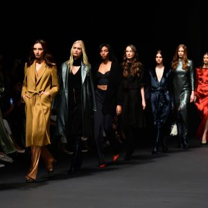 Kristina Fidelskaya - Fashion Forward Dubai Season 9 - (Photo by Cedric Ribeiro/Getty Images)