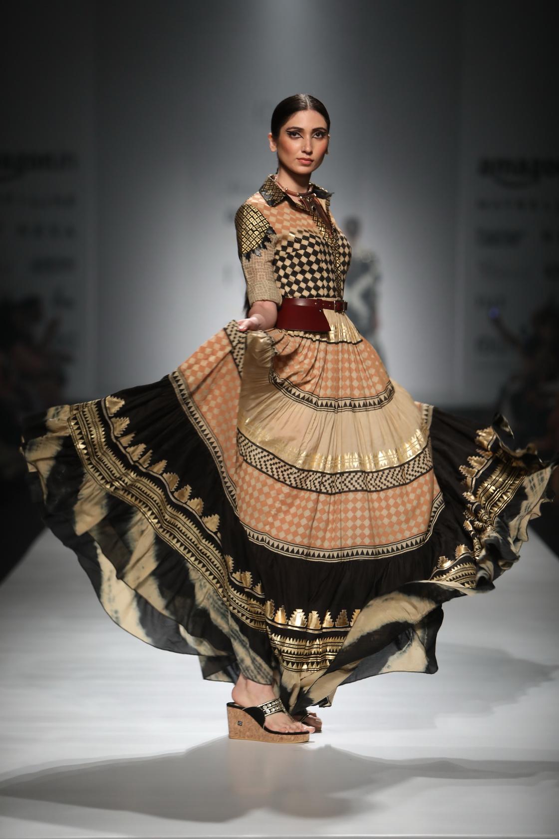 Malini Ramini - Amazon India Fashion Week AW17