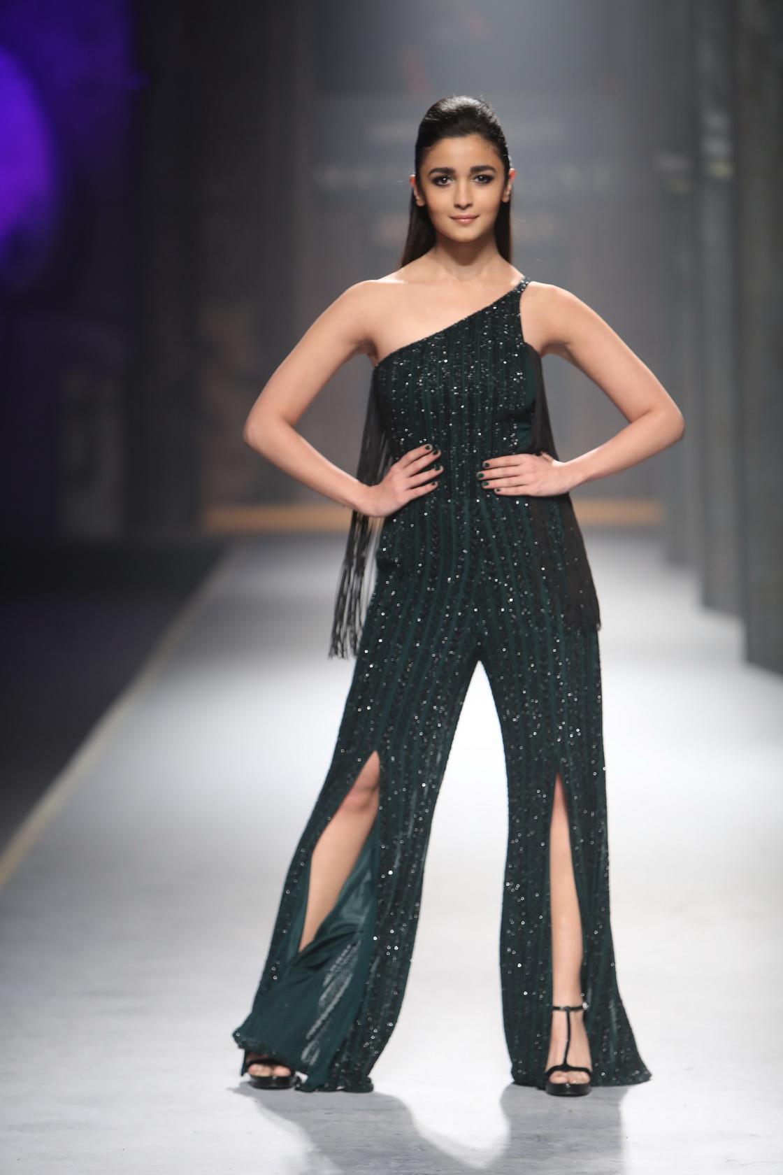Alia Bhatt for Namrata Joshipura - Amazon India Fashion Week AW17