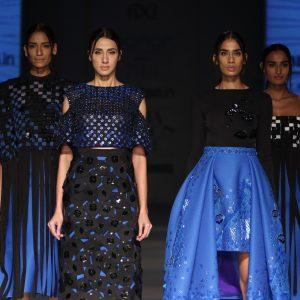 Pankaj & Nidhi - Amazon India Fashion Week AW17