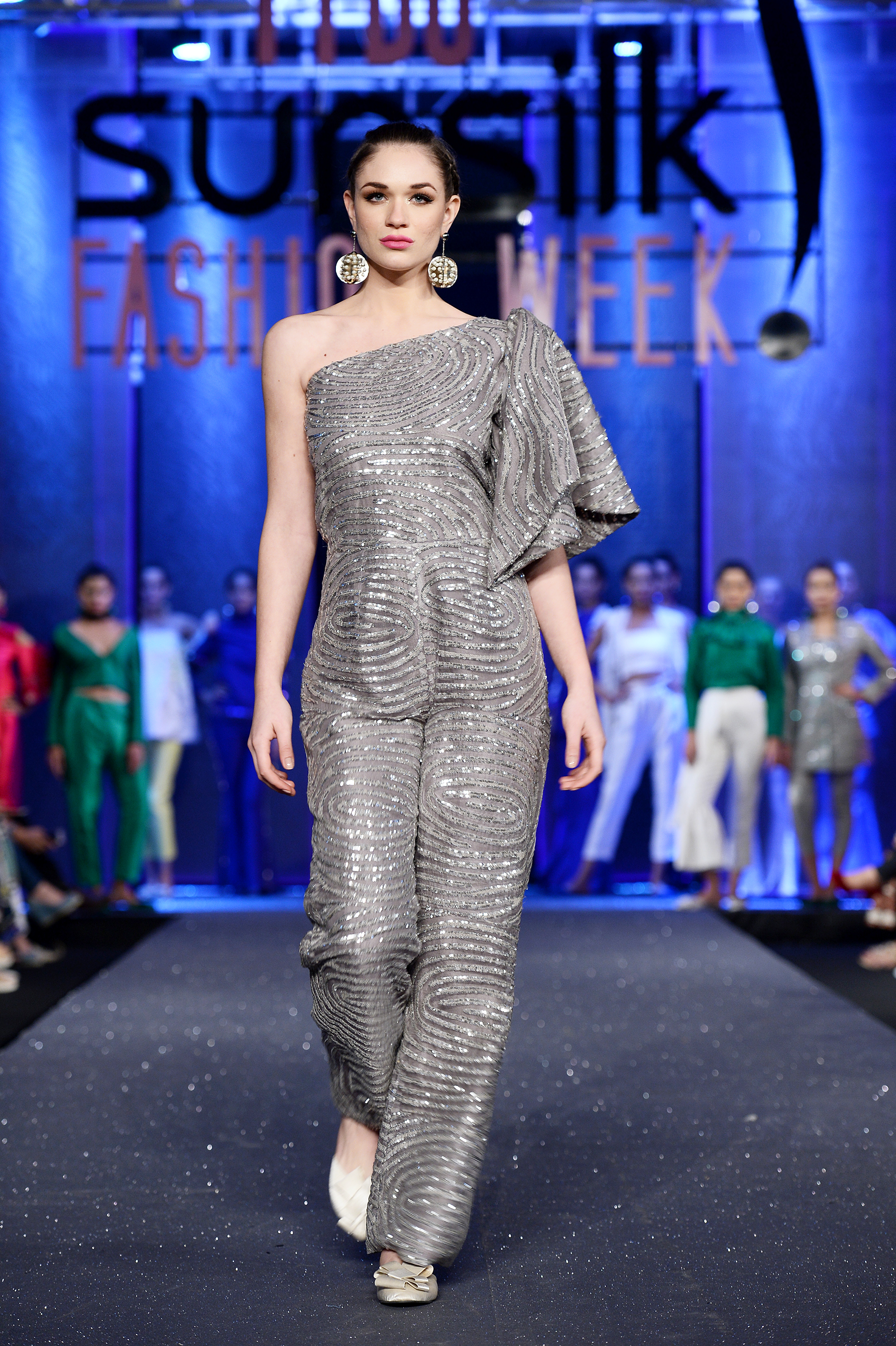 Cross Stitch - PFDC Sunsilk Fashion Week 2017, Photography: Faisal Farooqui and his team at Dragonfly