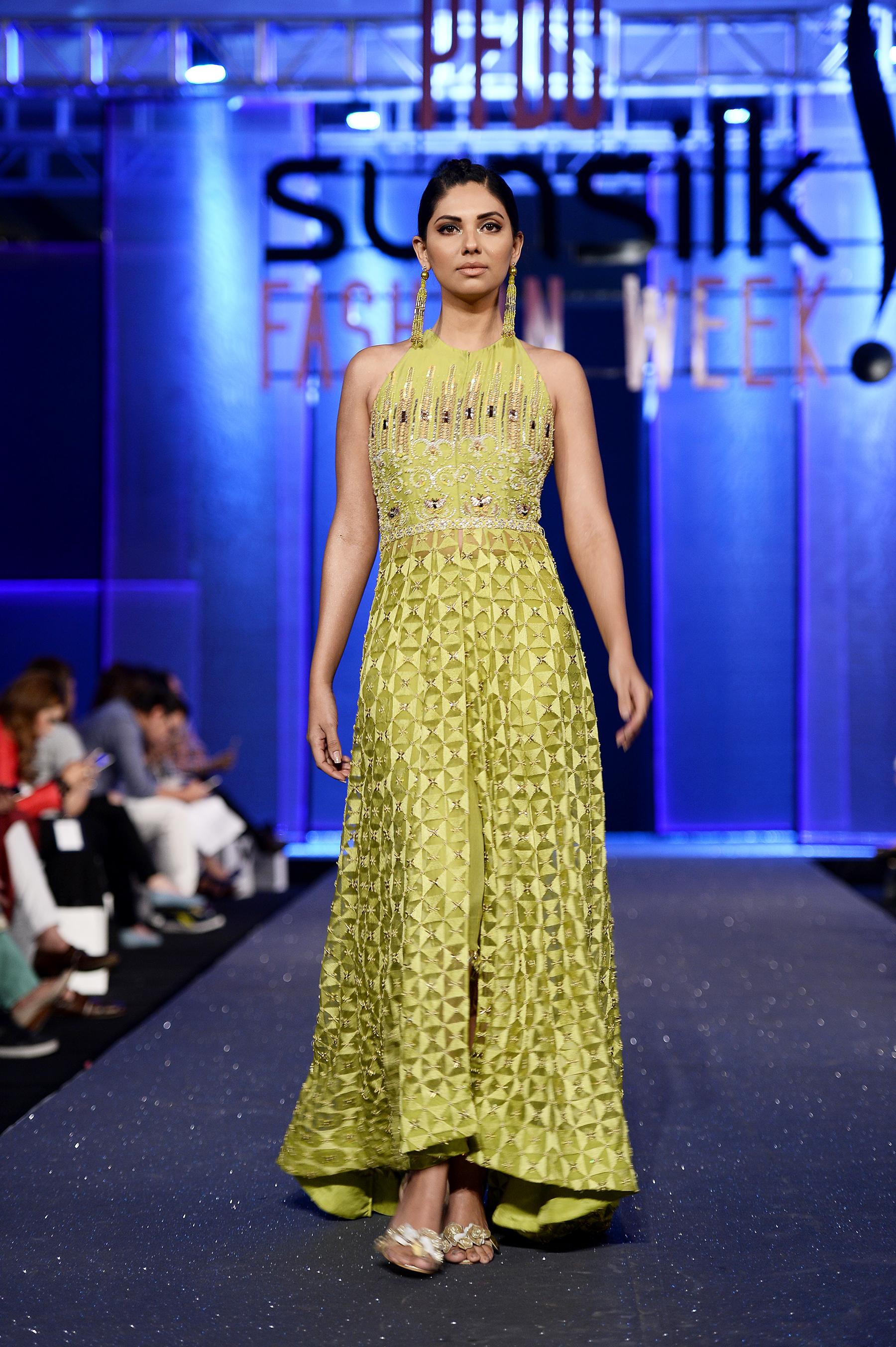 Faiza Saqlain - PFDC Sunsilk Fashion Week 2017, Photography: Faisal Farooqui and his team at Dragonfly