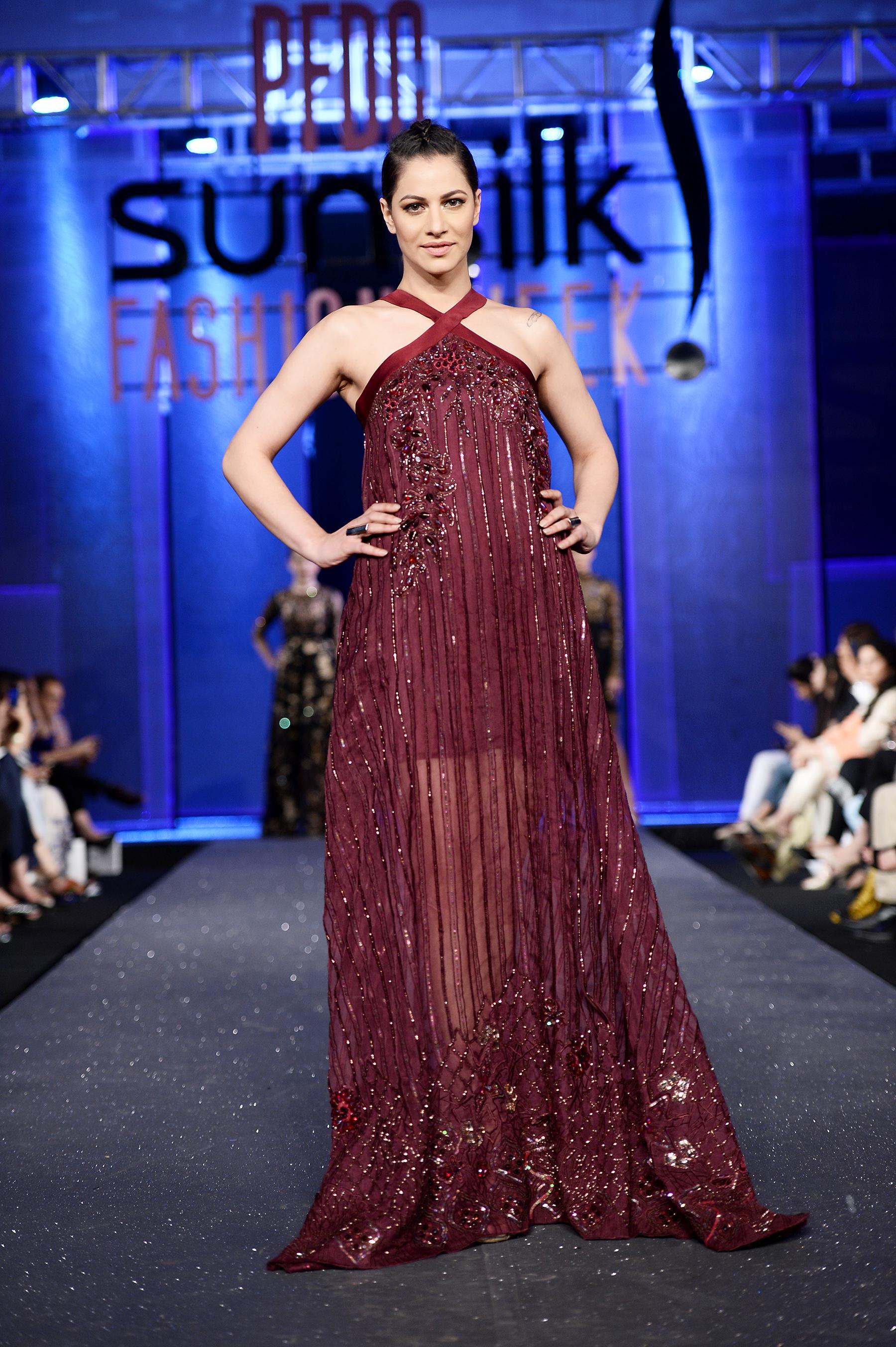 Tena Durrani - PFDC Sunsilk Fashion Week 2017, Photography: Faisal Farooqui and his team at Dragonfly
